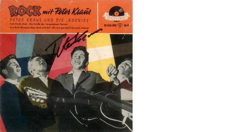 Plattencover Peter Kraus (Foto: SWR, Coverscan (Polydor))