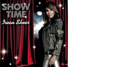 Ireen Sheer - Show Time Plattencover (Foto: SWR, Coverscan: Telamo)