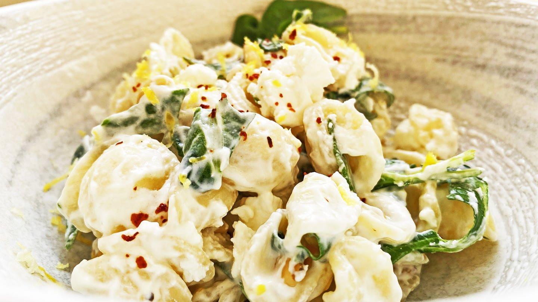 helle Schüssel mit Tortellini mit Spinat und Käse (Foto: SWR, Michael Lang)