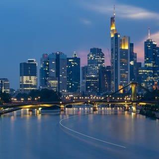 Banken in Frankfurt (Foto: dpa Bildfunk, picture alliance/Boris Roessler/dpa)
