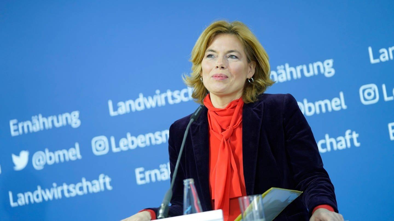 Julia Klöckner, die Bundesministerin für Ernährung und Landwirtschaft (Foto: dpa Bildfunk, picture alliance / Flashpic)