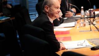 SPD-Kanzlerkandidat Olaf Scholz  (Foto: dpa Bildfunk, picture alliance/dpa/Carsten Koall)