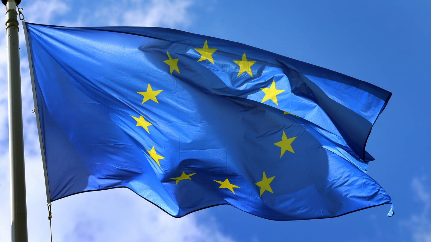 Flagge Europa (Foto: dpa Bildfunk, Picture Alliance)