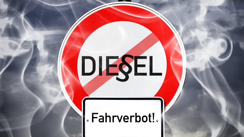Symbolbild: Diesel-Fahrverbot (Foto: picture-alliance / dpa)