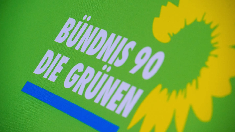 Logo der Partei Bündnis 90/Die Grünen (Foto: dpa Bildfunk, picture alliance/Stefan Sauer/dpa-Zentralbild/dpa)