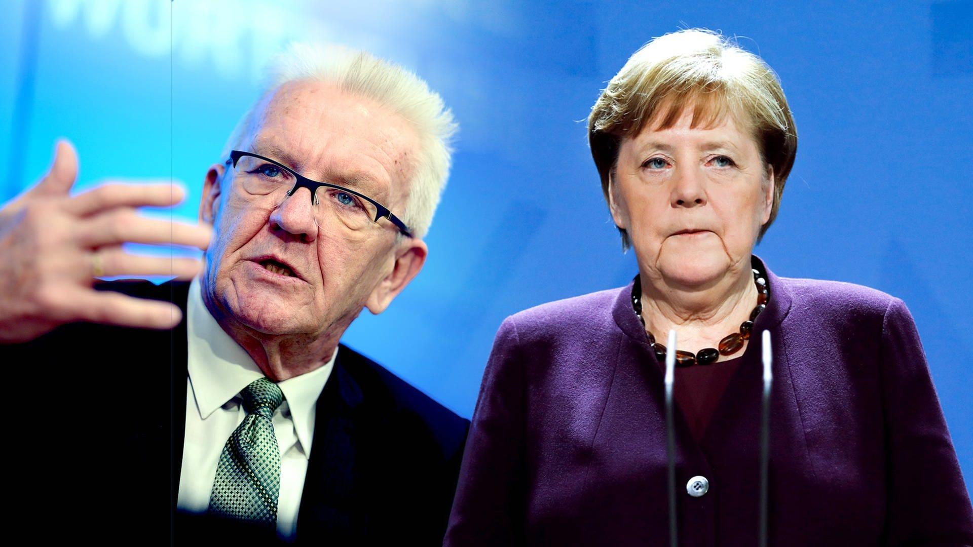 Coronavirus Ansprache Kretschmann Und Merkel Swr Aktuell