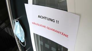 häusliche Quarantaene (Foto: dpa Bildfunk, picture alliance / Eibner-Pressefoto | Fleig / Eibner-Pressefoto)