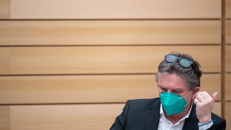 Manfred Lucha (Bündnis 90/Die Grünen), Gesundheitsminister von Baden-Württemberg (Foto: dpa Bildfunk, picture alliance/dpa | Sebastian Gollnow; Archivbild)
