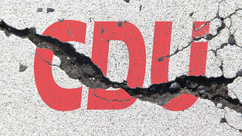 Das Logo der CDU (Foto: Imago, IMAGO / Ralph Peters (Symbolbild))
