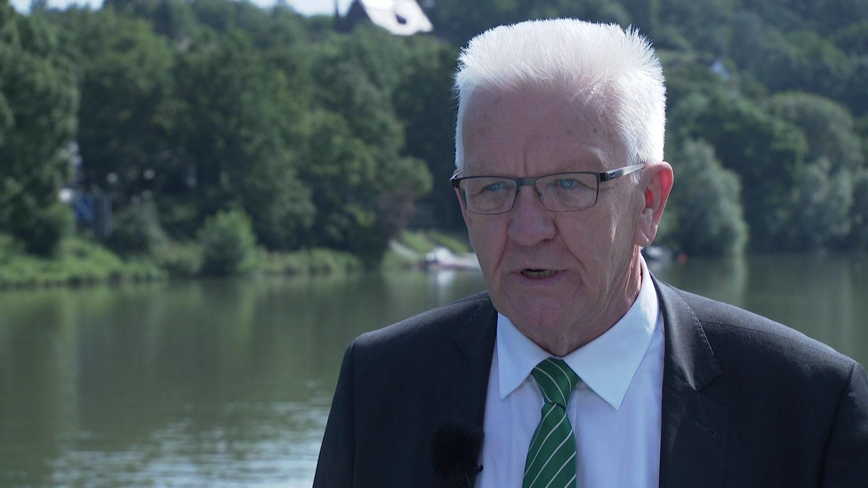 SWR Aktuell Sommerinterview mit Ministerpräsident Kretschmann