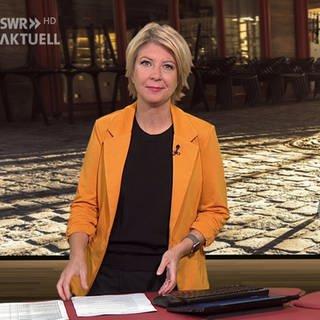 Nachrichtenpsrecherin Stefanie Germann (Foto: SWR)