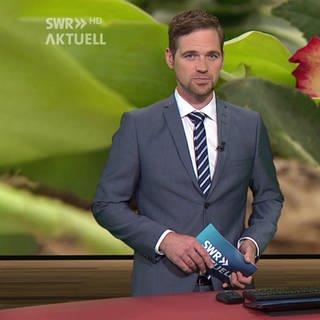 Nachrichtensprecher Georg Bruder (Foto: SWR)