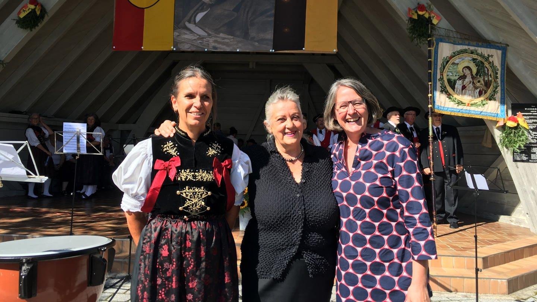 Künstlerin Näher beim der Verleihung des Hans-Thoma-Preises in Bernau (Foto: SWR)