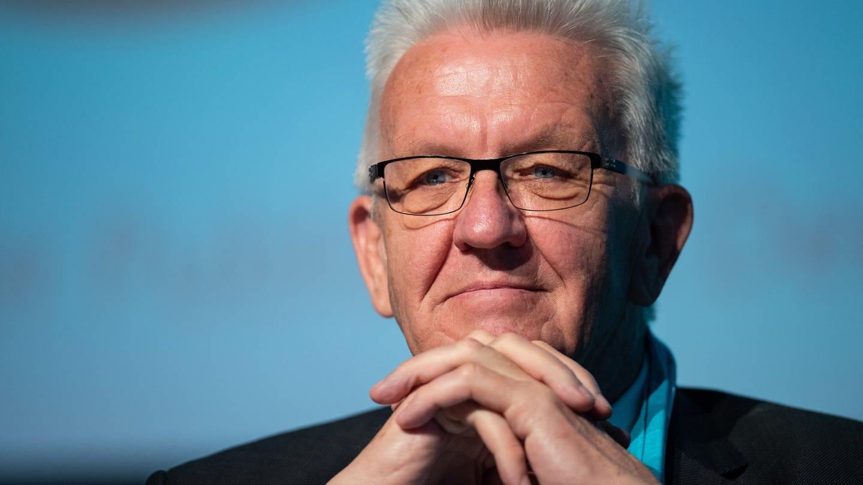 Winfried Kretschmann (Grüne), Ministerpräsident des Landes Baden-Württemberg. (Foto: dpa Bildfunk, picture alliance/Guido Kirchner/dpa)