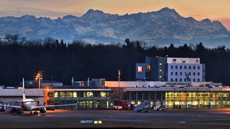 Der Bodensee-Airport in Friedrichshafen (Foto: Pressestelle, Bodensee-Airport Friedrichshafen/Felix Kaestle)