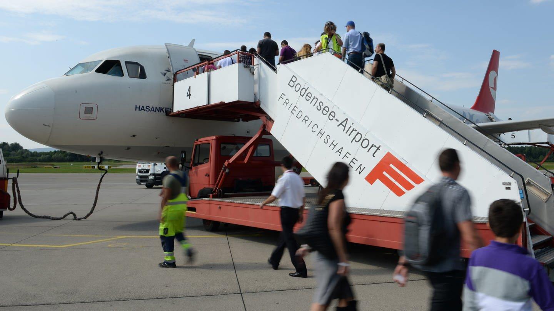 Der Bodensee-Airport in Friedrichshafen (Foto: Pressestelle, Bodensee-Airport Friedrichshafen)