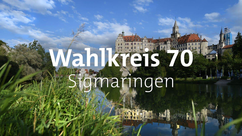 Die Ansicht auf das Schloss in Sigmaringen. (Foto: dpa Bildfunk, picture alliance/dpa/Felix Kästle)