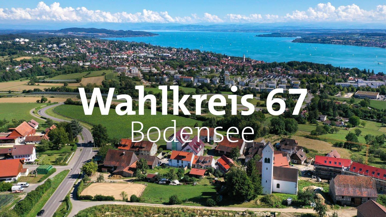 Luftansicht des Bodensees bei Überlingen. (Foto: dpa Bildfunk, picture alliance/dpa/Felix Kästle)