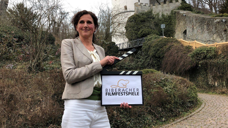 Porträt Nathalie Arnegger, Intendantin der Biberacher Filmfestspiele (Foto: SWR)