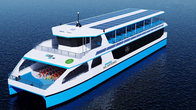 Baustart für erstes Elektro-Schiff der Bodensee-Schiffsbetriebe
