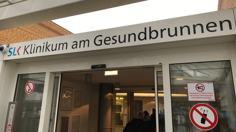 SLK-Kliniken Heilbronn Eingang (Foto: SWR, SWR)