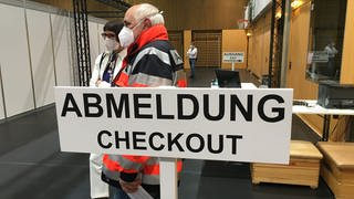 Impfzentrum Bad Mergentheim (Foto: SWR)
