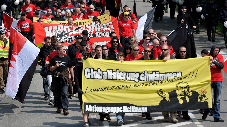 Rechtsextreme in Heilbronn-Franken vor allem im Internet aktiv