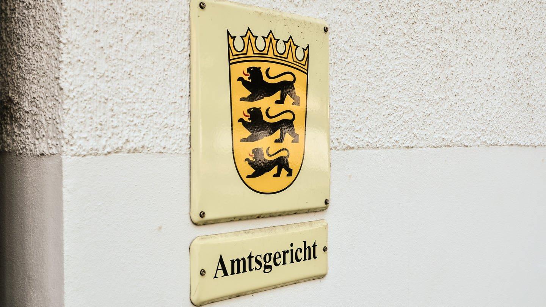 Amtsgericht - Schild (Foto: SWR, Michael Köhler)