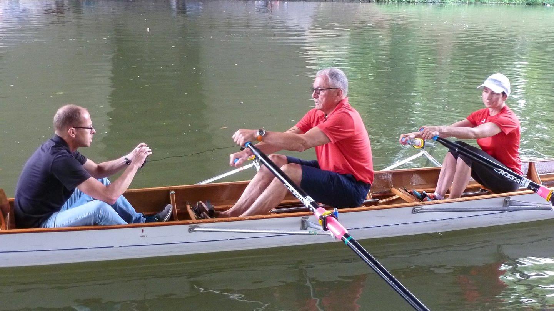 BUGA - Ruderer im Boot (Foto: SWR, Harry Dehling)