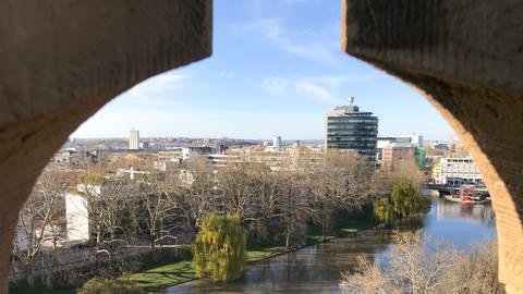 Blick vom Götzenturm in Heilbronn | SWR, Nicole Heidrich