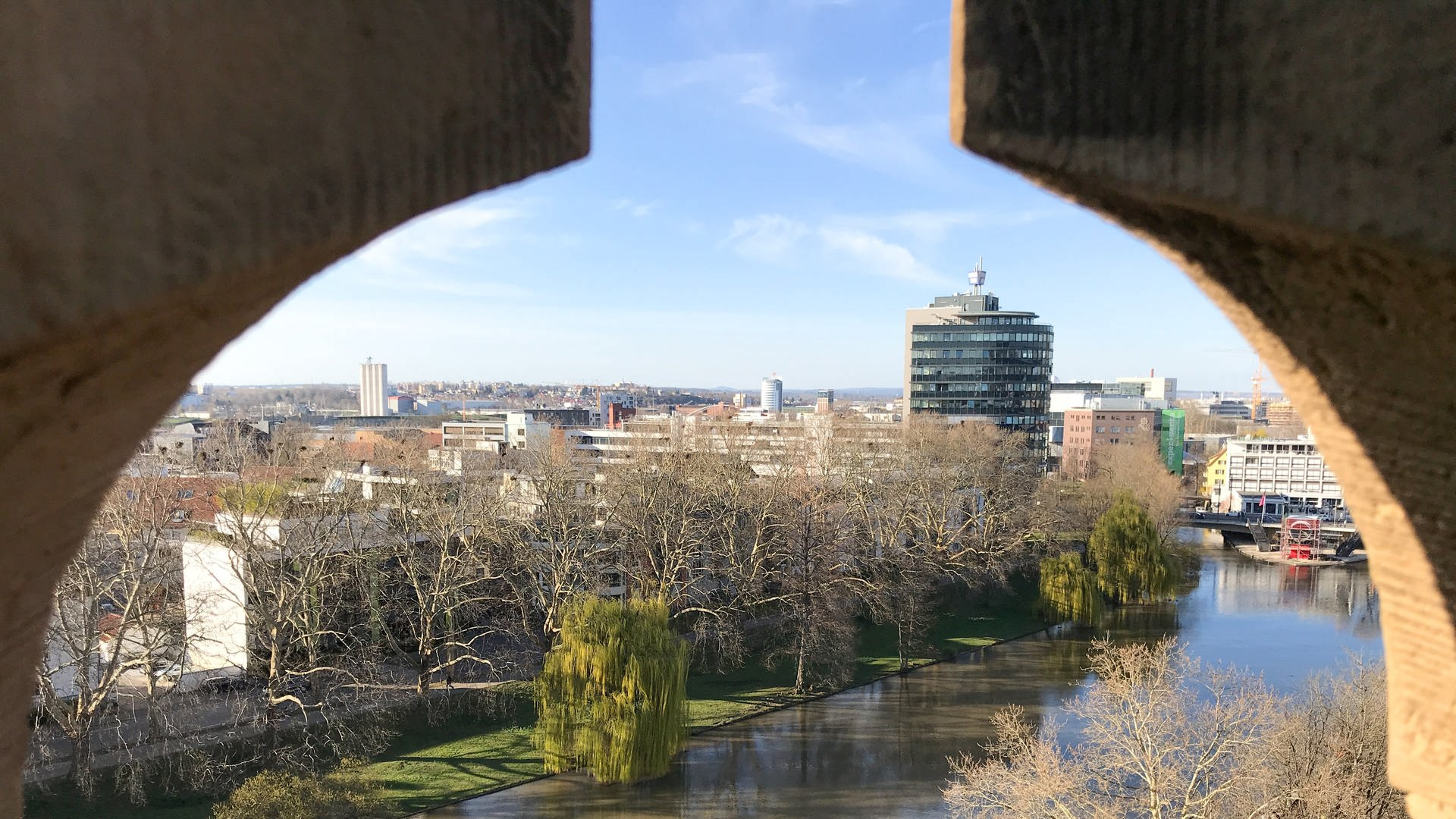 Blick vom Götzenturm in Heilbronn