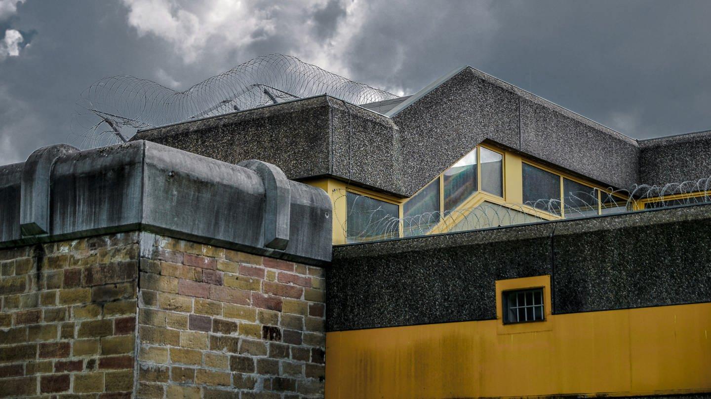 Dicke Mauern in der JVA Heilbronn (Foto: SWR)