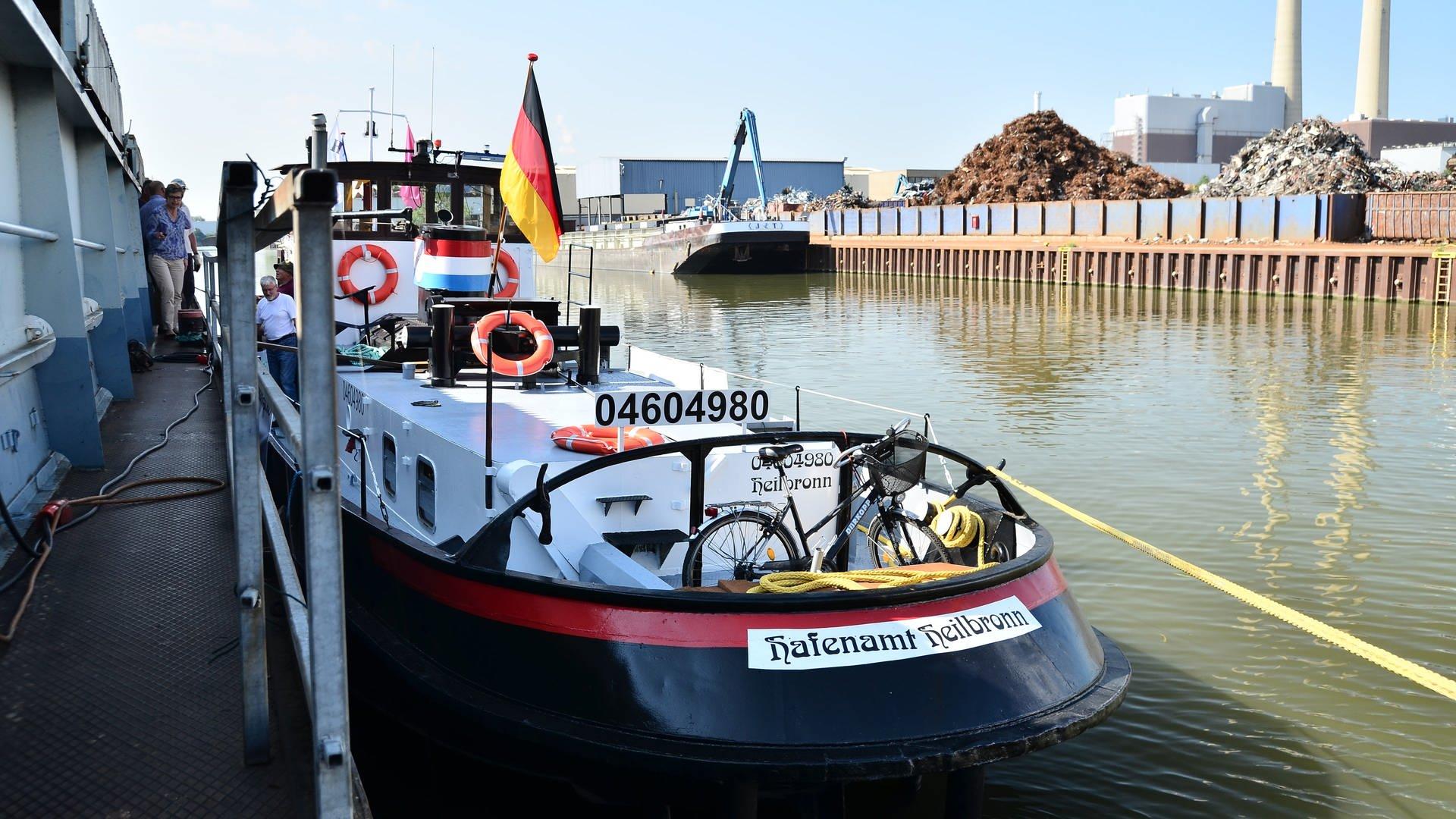 Dieser historischer Hafenschlepper wird bei der Bundesgartenschau 2019 dabei sein.