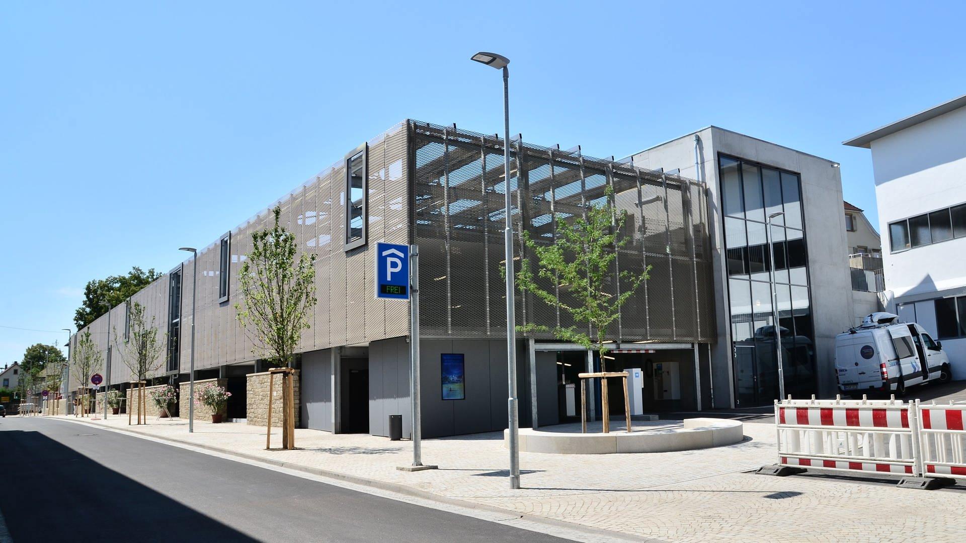 In Eppingen wurde das neue Parkhaus eingeweiht