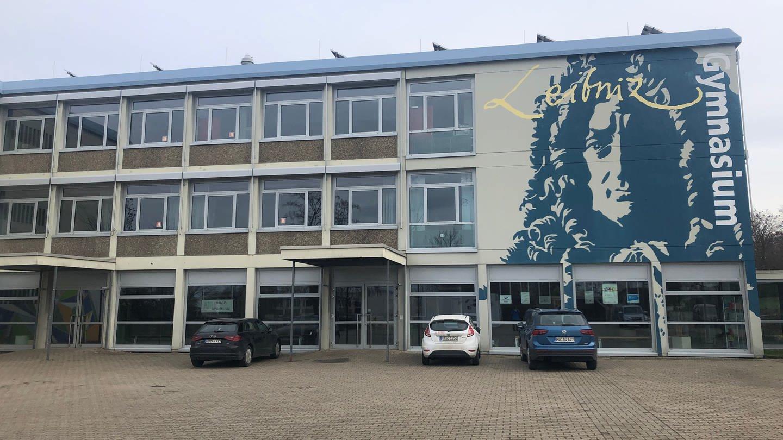 Das Leibniz-Gymansium in Östringen (Foto: SWR)