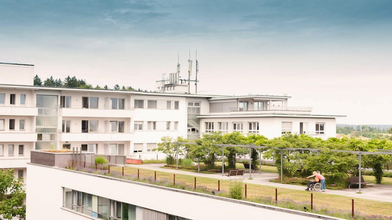 Das Klinikum in Karlsbad-Langensteinbach
