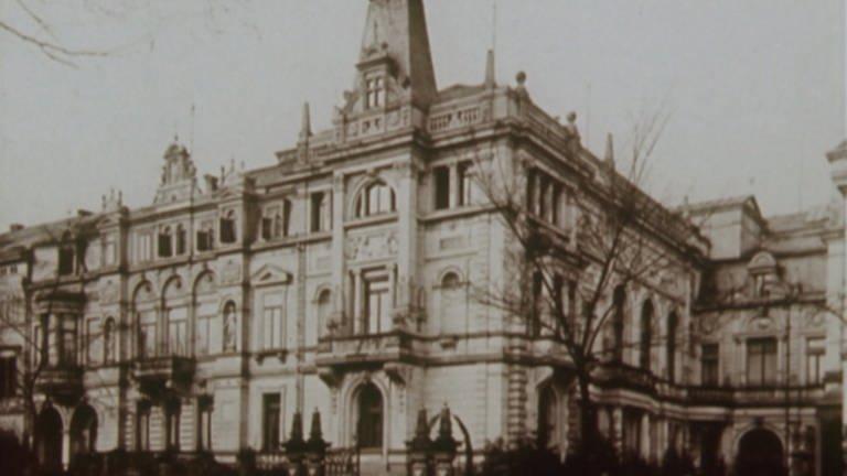 Das Palais Bürklin in Karlsruhe (Foto: SWR)
