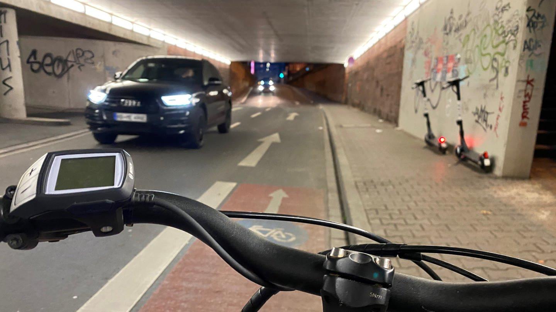 Radweg endet im Nichts (Foto: SWR)