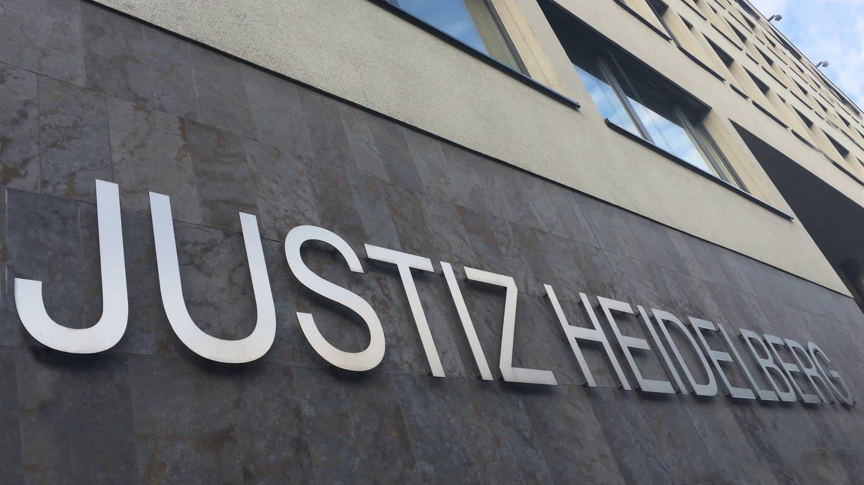 Die Fassade des Landgericht Heidelberg (Foto: SWR)