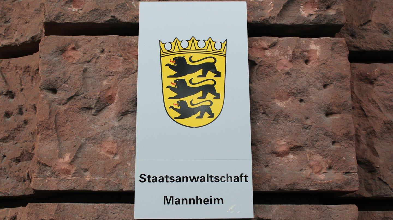 Staatsanwaltschaft Mannheim Gebäude (Foto: SWR, Franka Wunder)