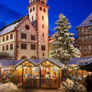 Weihnachtsmarkt Mosbach (Foto: Tourist Information, Mosbach)