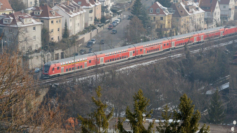 Gäubahn (Foto: dpa Bildfunk, picture alliance / dpa   Franziska Kraufmann)