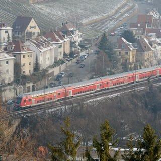Gäubahn (Foto: dpa Bildfunk, picture alliance / dpa | Franziska Kraufmann)