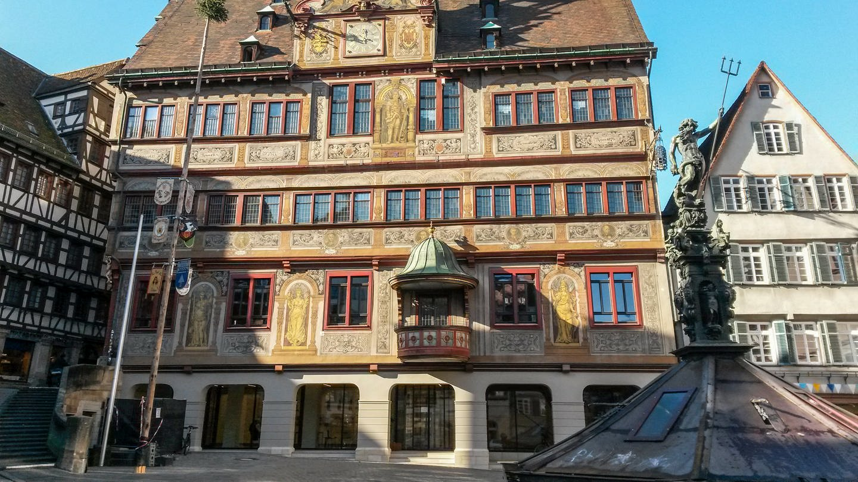 Rathaus Tübingen (Foto: SWR, Anette Hübsch)
