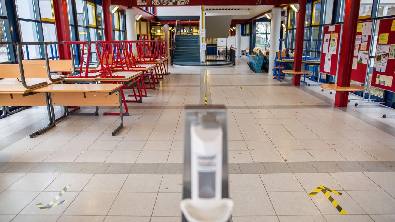 Schule im Lockdown (Foto: dpa Bildfunk, Philipp von Ditfurth)