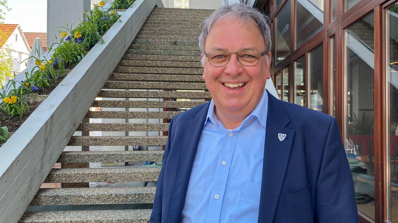 Oberbürgermeister Reutlingen Thomas Keck will mehr bezahlbaren Wohnraum (Foto: SWR, Anne Täschner)
