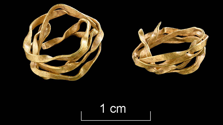 Das Spiralröllchen aus Golddraht - Ältester Goldfund aus Baden-Württemberg