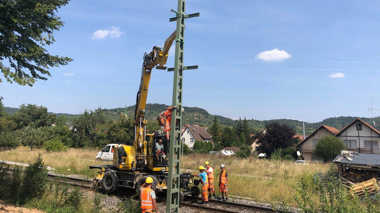 Elektrifizierung der Ammertalbahn