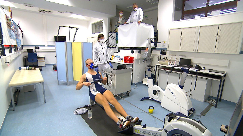 An der Uniklinik in Ulm betreut die Sport- und Rehabilitationsmedizin derzeit 30 Spitzensportler nach ihrer Covid-Erkrankung. (Foto: SWR)