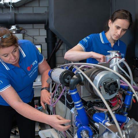 Uni Ulm bekommt 1,8 Millionen Euro Zuschuss für Forschung an Wasserstoffantrieb für Flugzeuge. (Foto: Uni Ulm, Elvira Eberhardt)